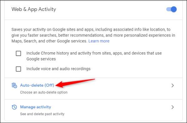 حذف هیستوری از گوگل