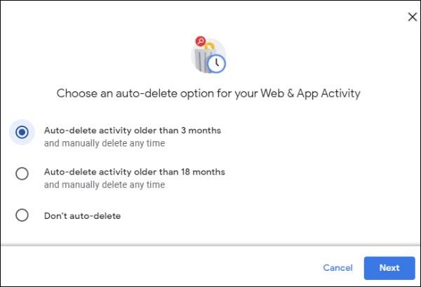 حذف لوکیشن در گوگل
