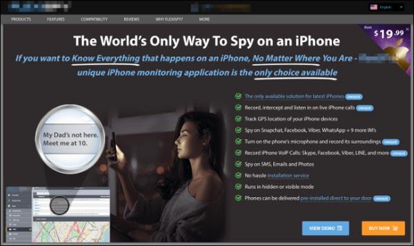 نرم افزار های جاسوسی آیفون چیست؟