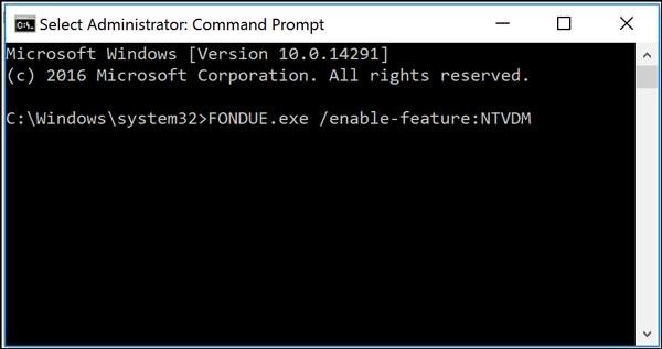 فعال کردن حالت 16 بیتی ویندوز 10
