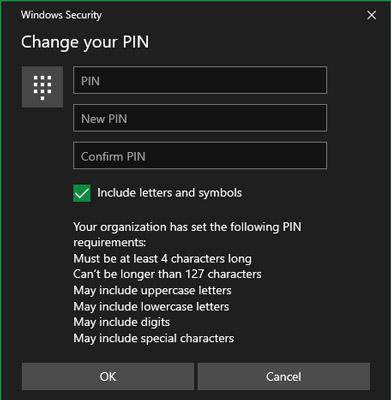 چگونه برای ویندوز 10 پین تنظیم کنیم؟