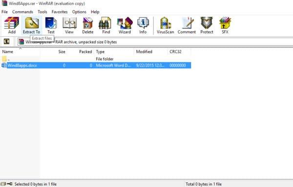 چگونه یک فایل RAR را در ویندوز 10 استخراج کنیم