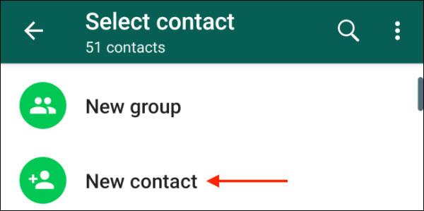 آموزش اضافه کردن مخاطبین در واتساپ در اندروید