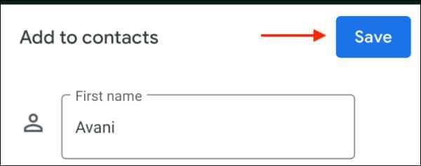 اضافه کردن مخاطبین در واتساپ گوشی اندروید