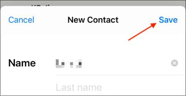 نحوه اضافه کردن مخاطبین در واتساپ آیفون