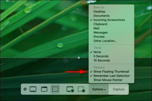 غیرفعال کردن پیش نمایش اسکرین شات در مک