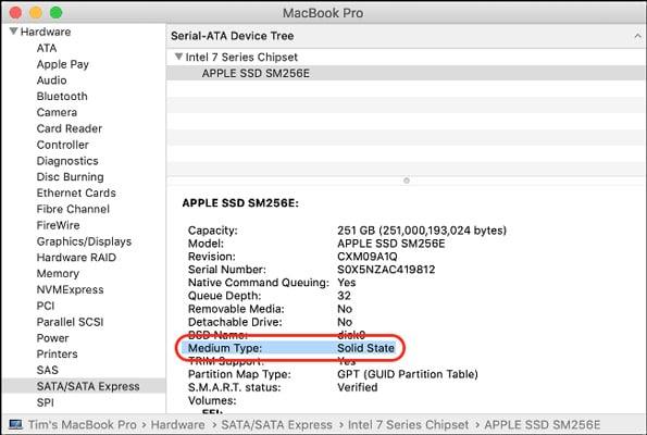 استفاده از هارد SSD