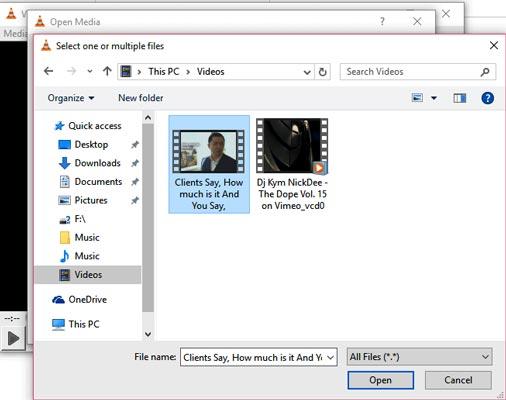 استفاده از پلیر VLC