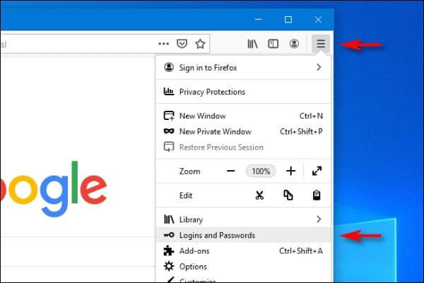 مشاهده پسورد های ذخیره شده فایرفاکس در سیستم