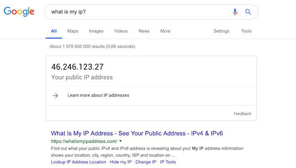 آدرس آی پی استاتیک چیست؟