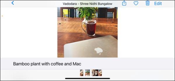 نحوه اضافه کردن توضیحات به عکس و فیلم ها در آیفون و آیپد