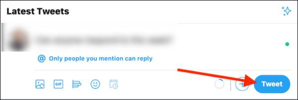چه کسی می تواند به توییت ها در وب پاسخ دهد