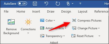 فشرده سازی تصاویر مایکروسافت ورد در ویندوز
