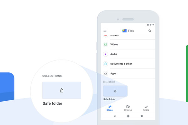 فولدر امن (Safe Folder) چه کاری می کند ؟