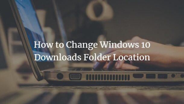 تغییر مسیر دانلود فایل ها