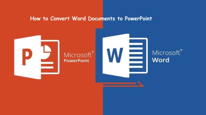 Convert WORD to PPT cover
