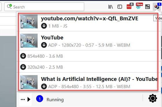 Video DownloadHelper Firefox