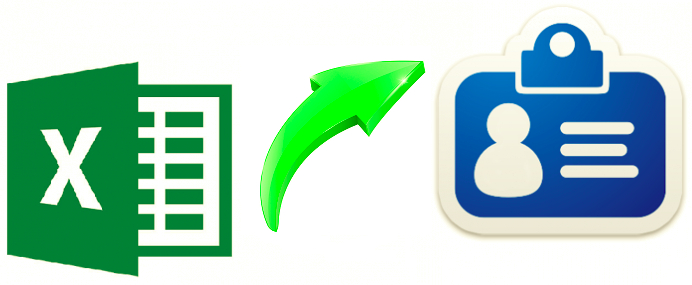 Excel to vCard Conversion