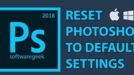 How to Reset Photoshop Preferences to Default cover