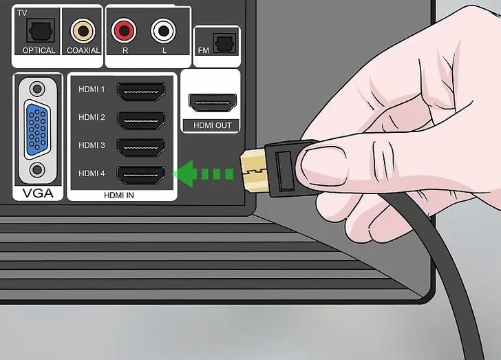 نحوه اتصال لپ تاپ به مانیتور