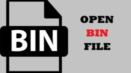 How to Open Bin File cover