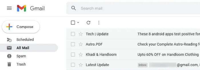 چگونه می توان ایمیل های بایگانی شده را در Gmail پیدا کرد