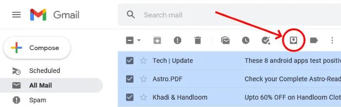 نحوه بازیابی ایمیل بایگانی شده در Gmail