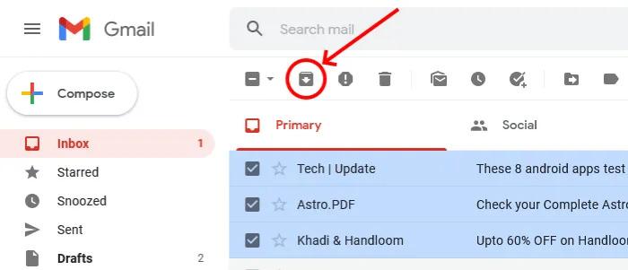 بایگانی Gmail چیست؟