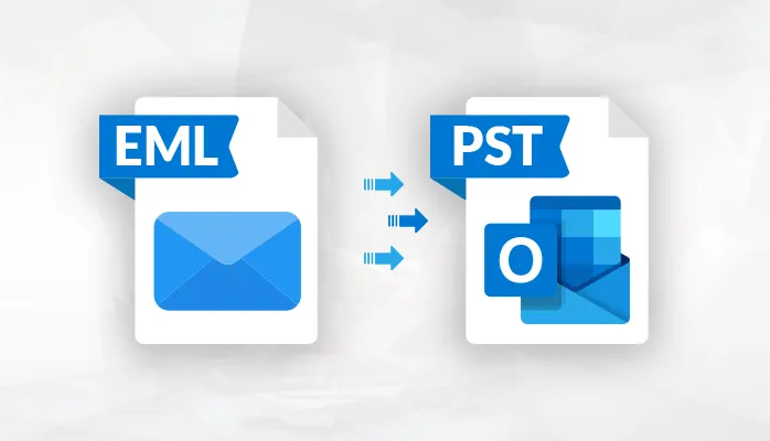 convert PST to EML cover