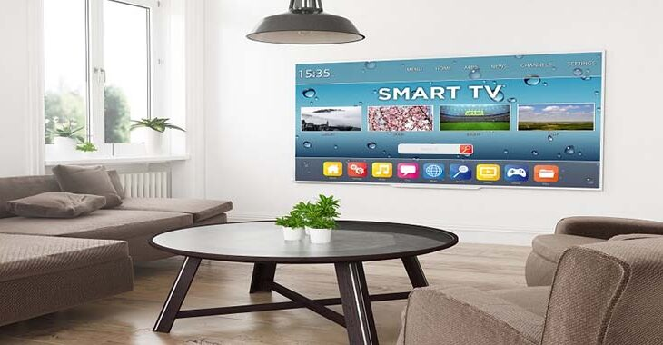 modern television smart tv