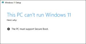 امنیت در ویندوز 11 از طریق سخت افزار