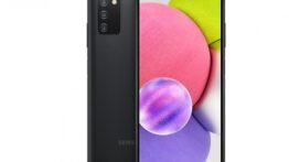 گوشی Galaxy A03s سامسونگ با باتری 5000 میلی آمپرساعتی رونمایی شد