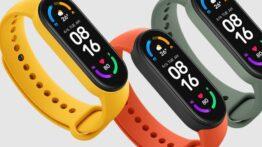 شیائومی از دستبند تناسب اندام Mi Smart Band 6 رونمایی کرد
