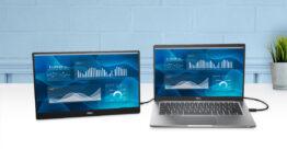 Dell از مانیتور پرتابل جدید 14 اینچی خود رونمایی کرد