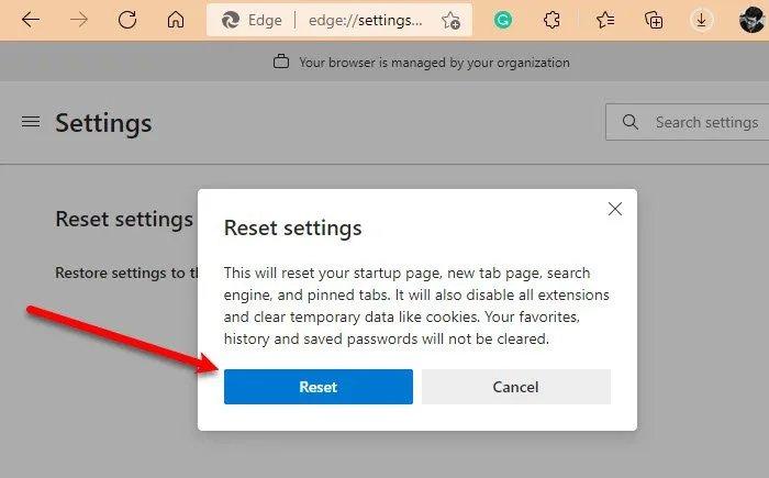 Microsoft Edge freezes or crashes when opening a PDF