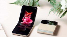 گوشی Galaxy Z Flip3 سامسونگ با نمایشگر خارجی بزرگ رونمایی شد