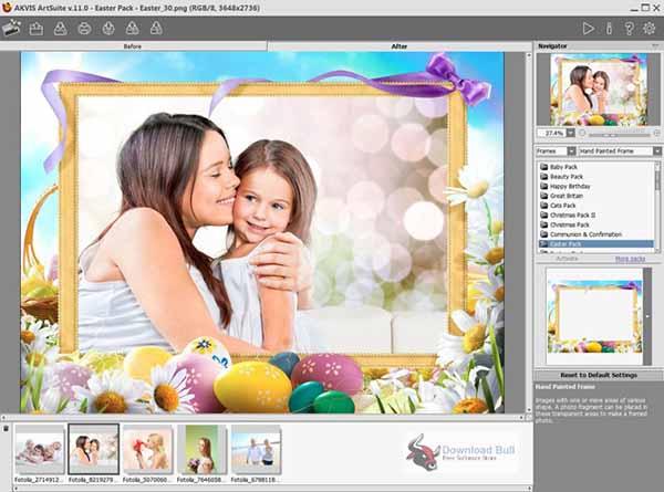 نرم افزار AKVIS Frames