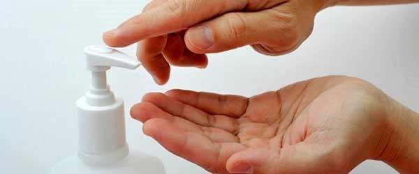 ضد عفونی کردن دست